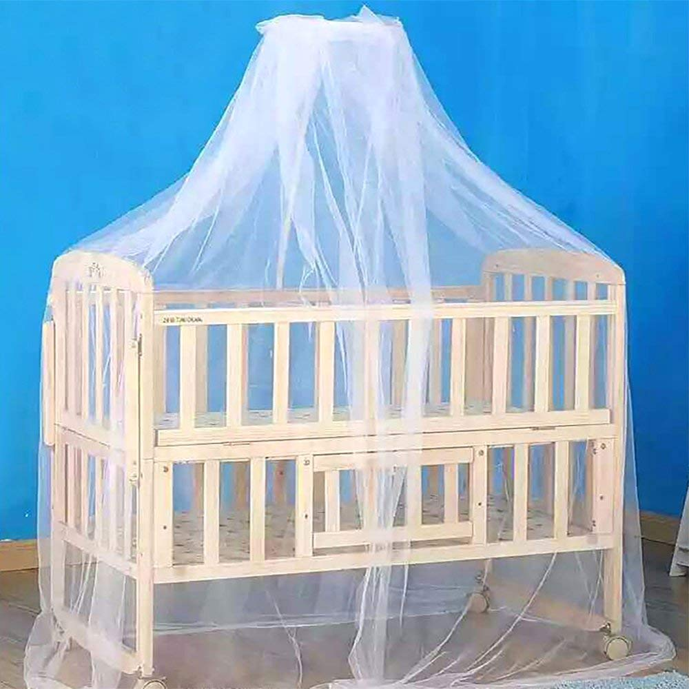 HGMart Dome Baby Mosquito Net,Mosquito Guard Baby Crib Netting Tent Bedding for Baby Kids Children's Room,Dome Tent Bedding Without Bracket