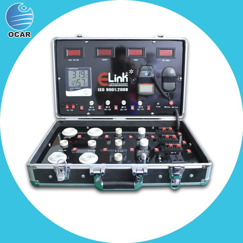 Portable Led Test Suitcase Public Led Lighting Led Demo Case