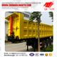 Brand new 50t - 80t bulk cargo rear dumpper tipper trailer