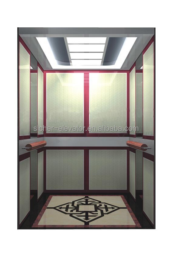 SRH GRPS20 Gearless Passenger Elevator, Passenger Lift, Enjoying Up and Down
