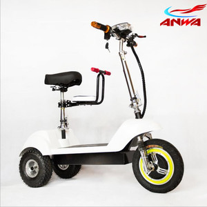 48V 20AH 500w Zappy Travel 3 Wheel Electric Mobility Scooter With Seat