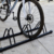 HS-T039   bicycle accessories bike display rack floor cycling  parking rack from China