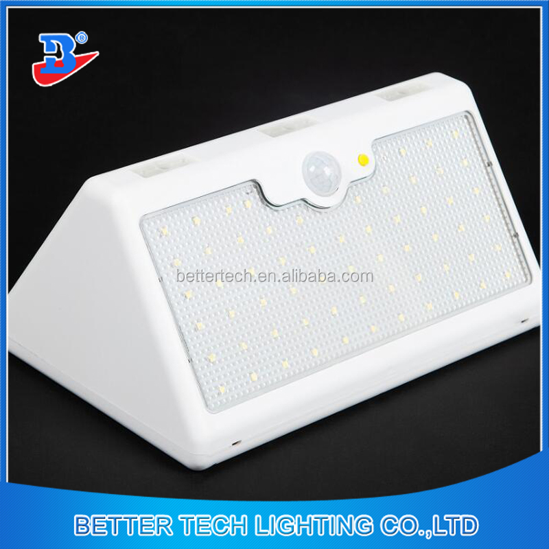 60leds Solar Panel Garden Motion Sensor Security Led Light