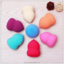 Powder puff sponge material and yes washable refillable Latex Free Makeup puff