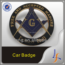 Masonic Car Emblem, Auto Emblems, Promotional Car Badge