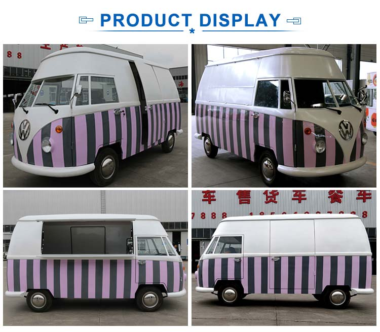 New arrival durable convenient electric mobile food truck for sale europe
