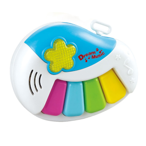 Kids mini musical piano keyboards electronic organ with light