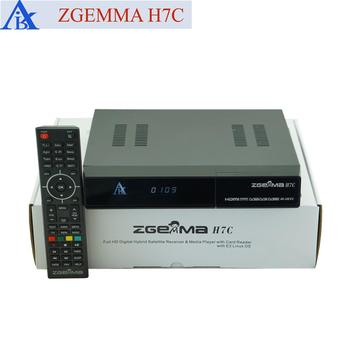 2017 Best Digital Version Zgemma H7c Combo Receiver&multistream Decoder Ci+  Hevc/h 265 With Dvb-s2/s2x+2*dvb-t2/c Dual Tuners - Buy Zgemma H7c Combo