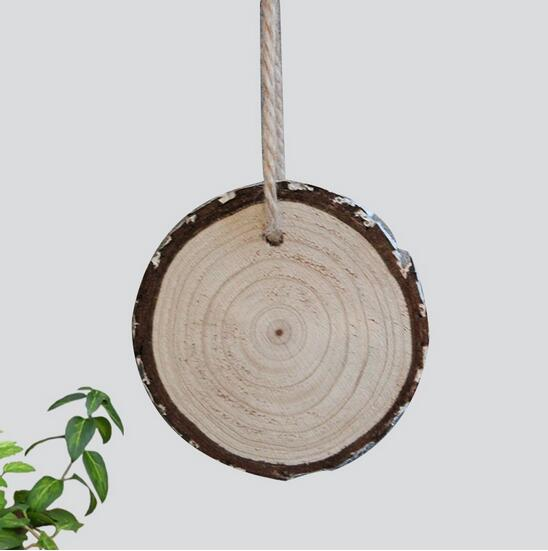 Live wedding decor,natural DIY project wood slices