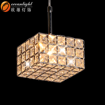 Square crystal pendant lamp modern hanging light rectangular crystal square crystal pendant lamp modern hanging light rectangular crystal chandelier om55001 aloadofball Images