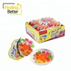 Chinese Confectionery Halal Pudding Custom Jelly Cup Candy Heart Rose Fruit Jelly Candy