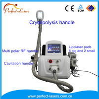 8 InchTouch Screen multifunctional slimming lipo laser radio frequency ultrasonic cavitation vacuum cavitation system