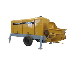 small trailer concrete pump/portable concrete pump