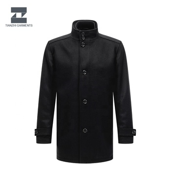 Top quality well designed parka men short trench coat 2019
