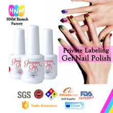 Glimmer Glitz Nail Gel Polish Mood Color Changing UV LED Gel Polish 100 Available Colors