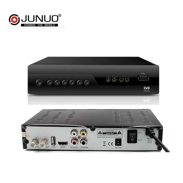 Junuo Factory size Africa Satellite Dish Tv Decoder,Universal Satellite Tv Channels Decoder