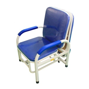 folding hospital nursing chair/hospital recliner chair bed/hospital sofa bed