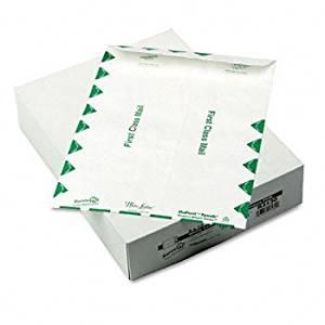 SURVIVOR White Leather™ DuPont® Tyvek® Mailer ENVELOPE,9X12 TYVEK,WE IVRDR350 (Pack of2)