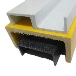E-Glass Fiber Roving Reinforced polyester FRP Extrusion profile