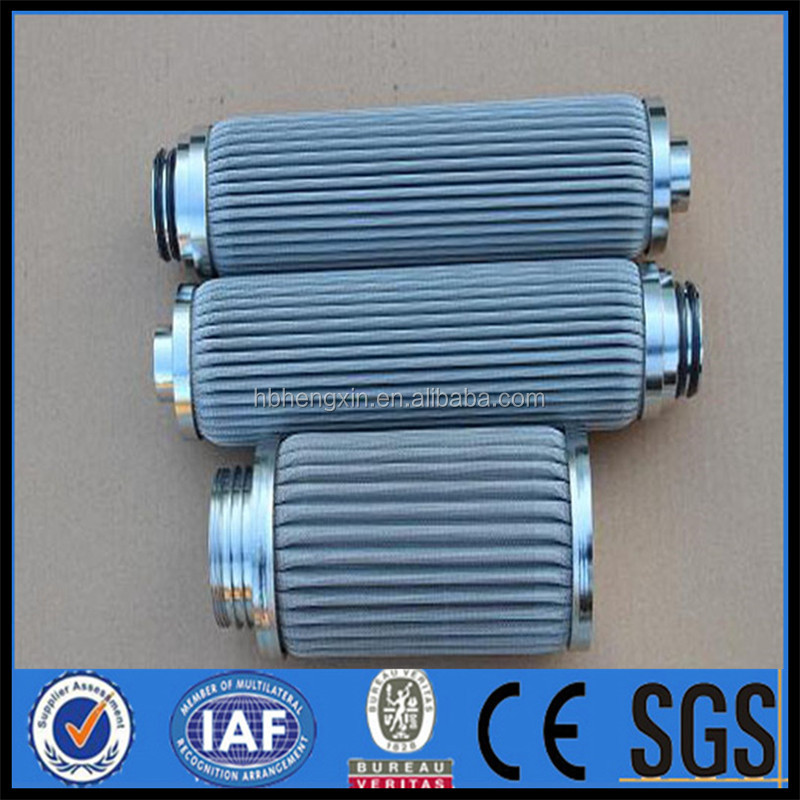 filter element with 316 stainless steel material