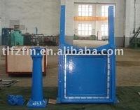 FZ24X square penstock/channel penstock/sluice gate/DN300-3200mm/From China
