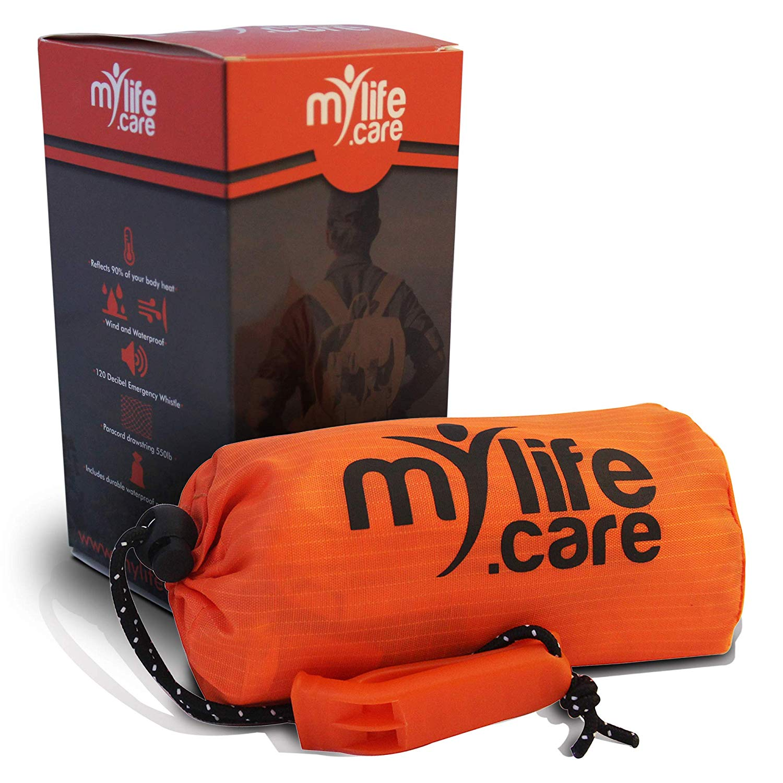 Mylifecare Emergency Sleeping Bag Ultimate Bivvy Survival Whistle Blanket