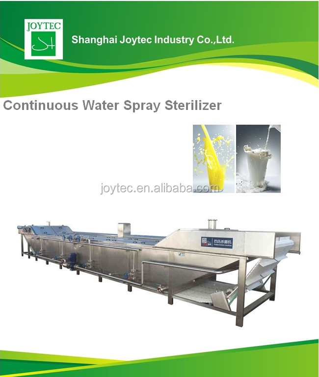 Juice pasteurizer machine