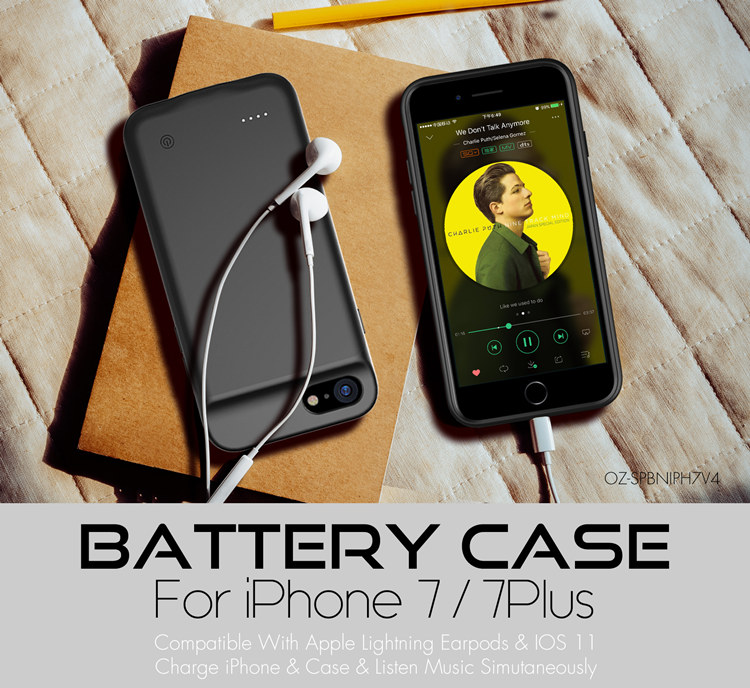 best authentic 02475 8653b Ultra Thin Backup Battery Case For Iphone 7 Power Bank Charger Case With  Built-in 3.5mm Headphone Jack - Buy Built-in 3.5mm Headphone Jack,Power  Bank ...