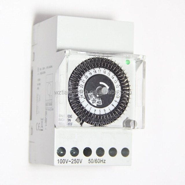 Time Switch TB-370 Non Power Failure 24 Hours Time Switch