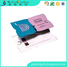 brilliant quality wholesale special shape letterpress business card printing