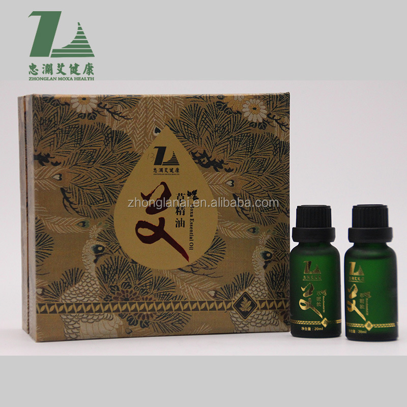 Zhonglan Wormwood oil Qi moxibustion moxa leaf scraping essential oil for body care