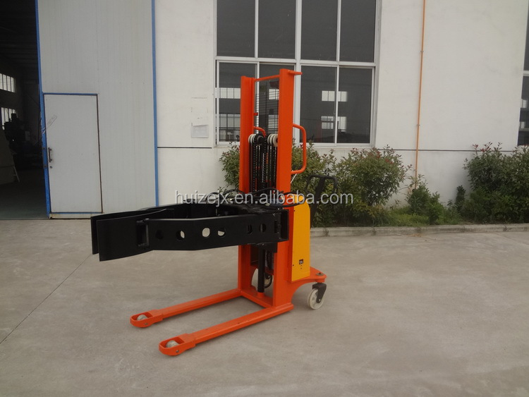 Clamp Forklift Controls : Kgs electric paper roll clamp stacker for