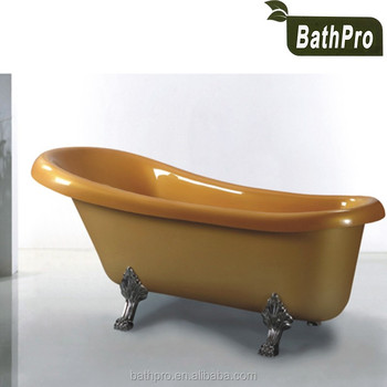 Indoor Portable One Person Used Freestanding Acrylic Bathtub With ...