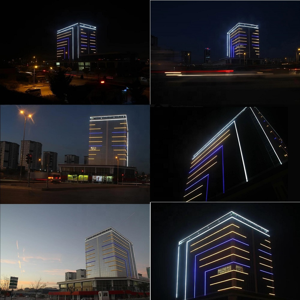 LED Building Block RGB Color Changing