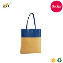 Sedex audit factory Custom handbag school bags cheap handle PU shopping bag travel organizer