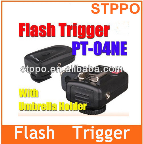 PT-04 IS II 4 Channels Wireless Flash Trigger For Camera