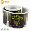 High quality Color Printed adhesive sticker label