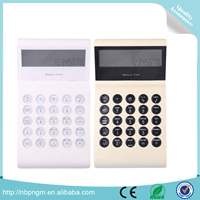 Solar Powered 8 Digit Electronic Office Multi-angle Display Calculator with Adjustable Screen