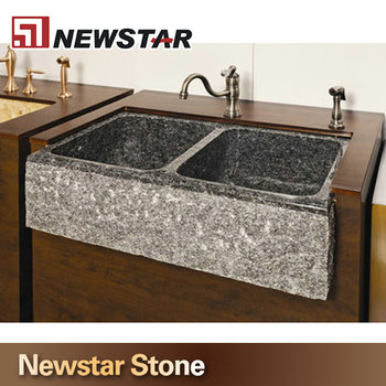 Natural Stone Double Bowl Kitchen Sink - Buy Double Bowl Kitchen ...