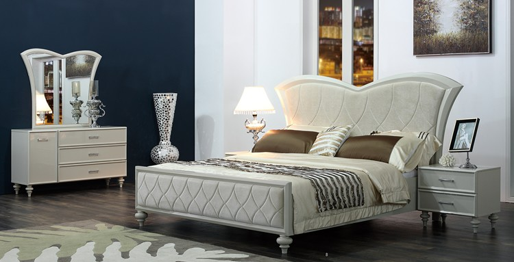 Import meubels uit china dubai hoge glanzende schilderen slaapkamer