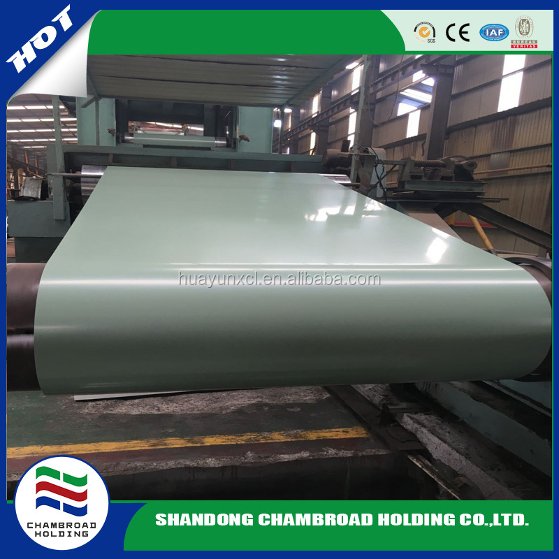 metal roofing sheets building material PPGI coils ral 9002 white prepainted galvanized steel coul