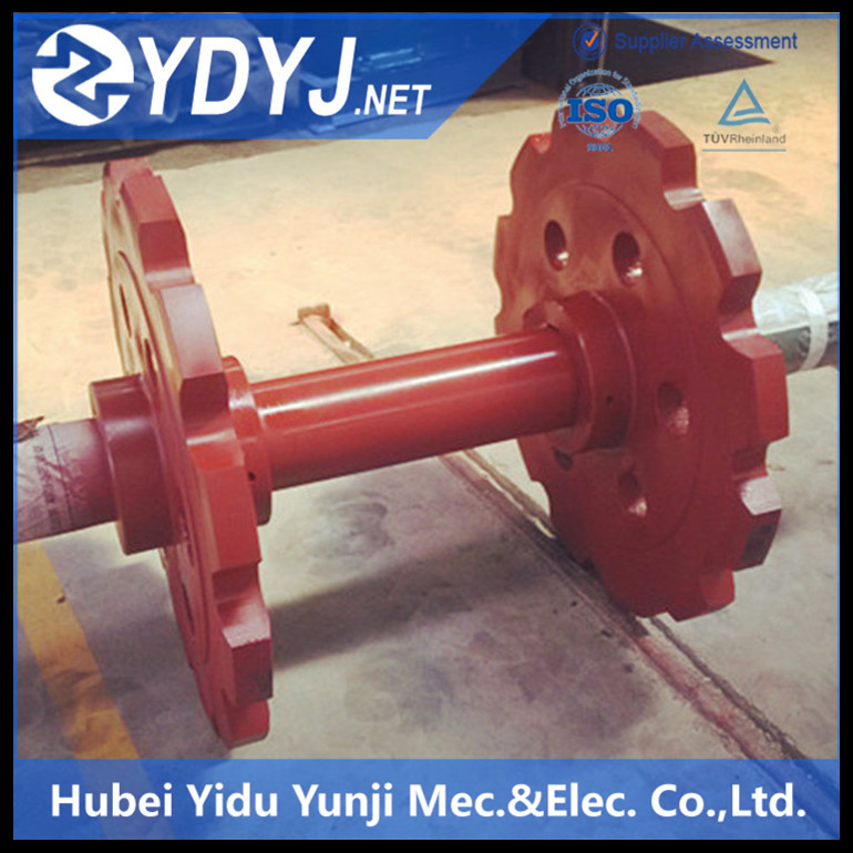 Casting steel Driving wheels for bucket elevator