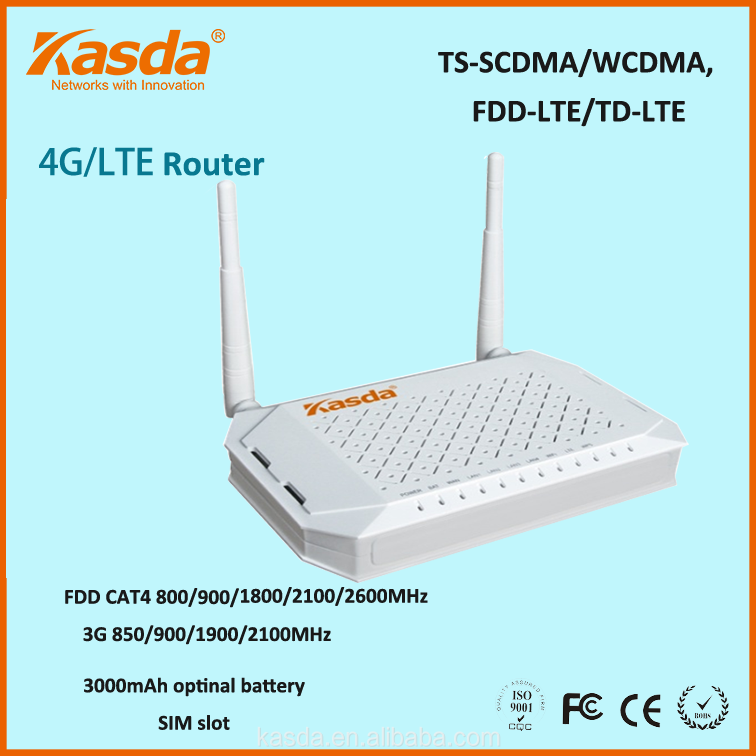 LTE CPE 4G router fall back to 3G Kasda KW9621_2