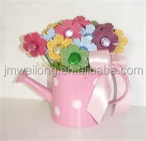Pink polka dot house decoration flower pot garden decoration kids pink polka dot house decoration flower pot garden decoration kids toy water can mightylinksfo