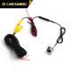 Hot sale 1/4 PC7070 car reverse camera price with dual control for security system