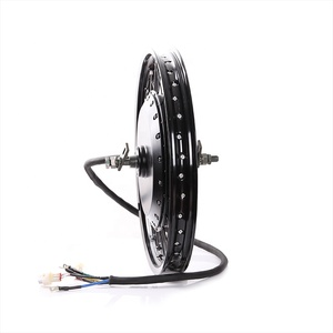 QS 8000w rear brushless gearless electric bicycle wheel hub motor