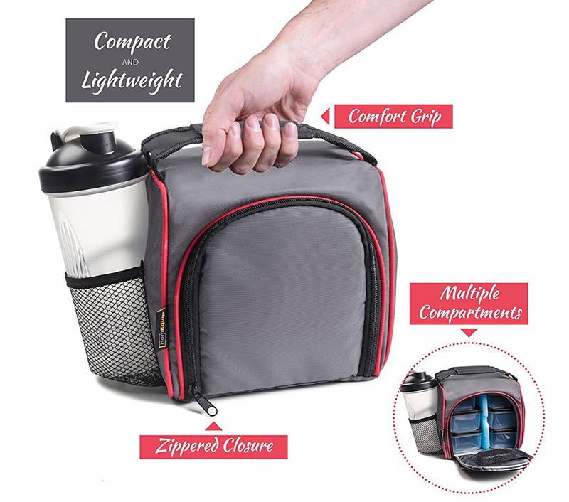 Top Compartment Is Great For Any Meal Sandwiches Snacks Nuts Berries Supplements Or A Fourth Container Of Food