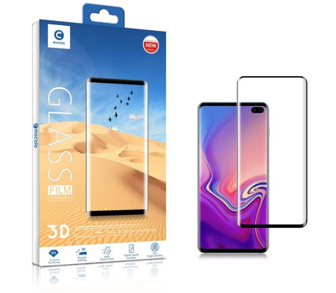 Best factory price OEM Tempered glass Screen Protector 2.5D 3mm  Tempered Glass Film for Samsung S10/S10plus/S10 lite