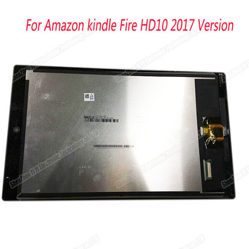 Para Amazon Kindle Fire HD 10 SL056ZE Gen 2017 Display LCD de Toque Digitador Da Tela