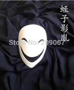 Black Bullet Resin Comic Infringement of the sky mask Air ghost to kill props